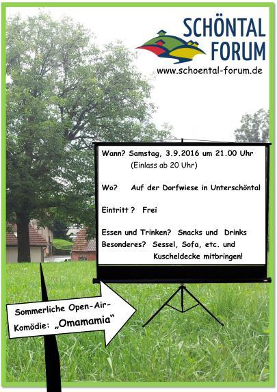 Plakat Open Air